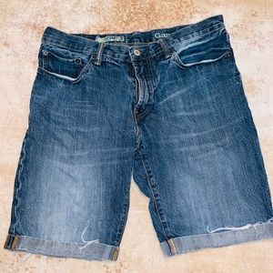 Gap denim shorts men's 32